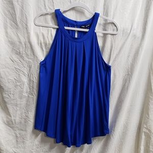 BNWT CABLE & GAUGE SLEEVELESS PLEATED TOP LARGE